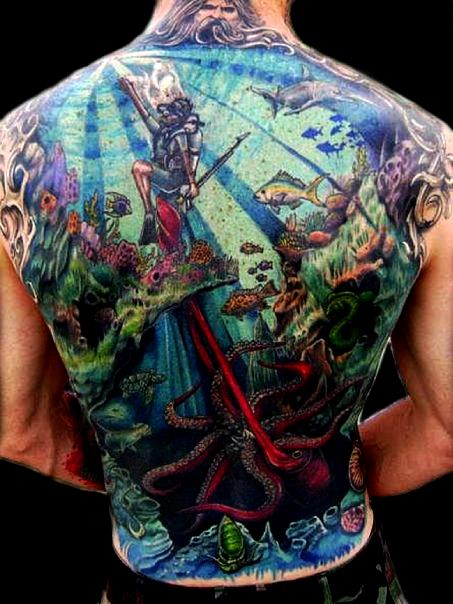 hallowed point tattoo