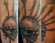Skull on Elbow