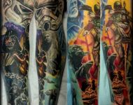Star Wars Leg Sleeve