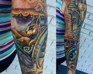 Egyptian sleeve